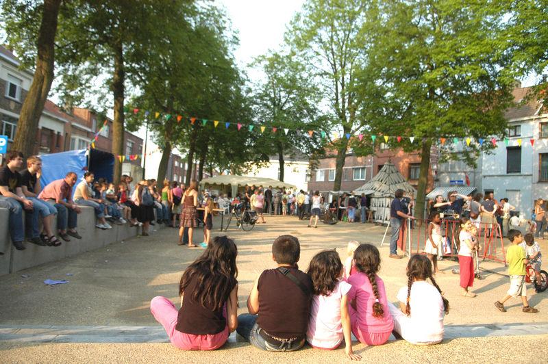 Plechtige opening Boerderijpark en Fonteineplein