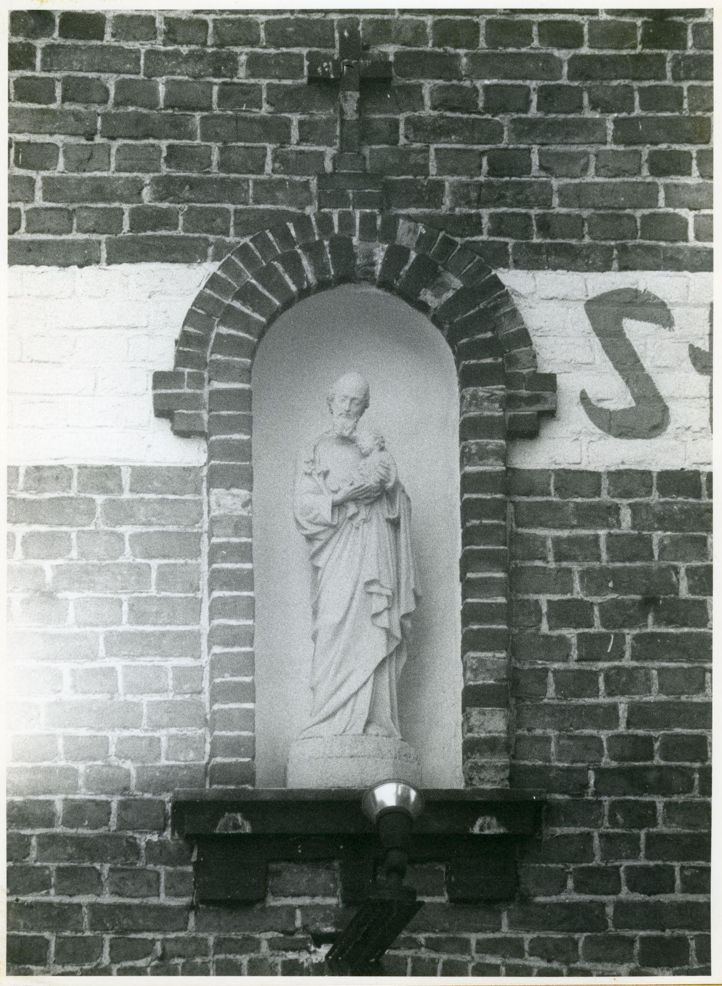 Oostakker: Gentstraat 360: Gevelbeeld, 1979
