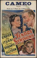 Music for Millions   Tendre symphonie, Cameo, Gent, 7 - 13 maart 1947