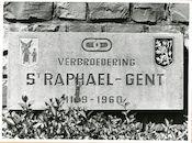 Gent: Citadelpark: Adolf Samuelstraat: gedenksteen: verbroedering
