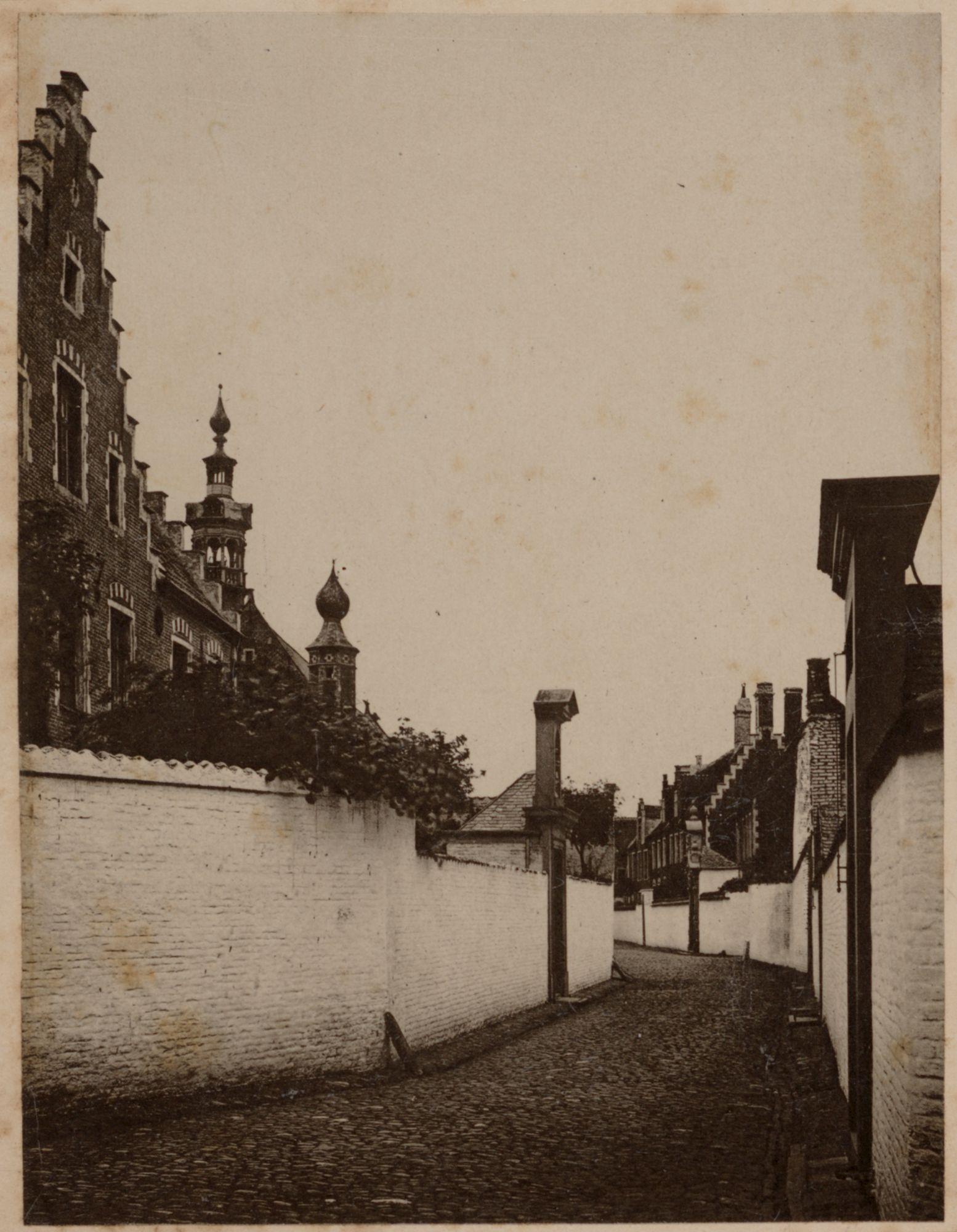 Gent: Sint-Elisabethbegijnhof: Edmond Boonenstraat, voor 1877