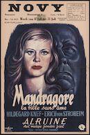 [Alraune]   Mandragore la fille sans âme   Alruine het meisje zonder ziel, Novy, Gent, 17 - 23 juli 1953