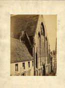 Gent: Predikherenkerk, westgevel hoek Dominicanenstraat ( later Jacobijnenstraat) en Onderbergen