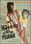 Das mädchen ohne pyjama, [Plaza], [Gent], [october 1958]