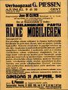 Openbare en vrijwillige verkoop in verkoopzaal G. Piessen, Ajuinlei, nrs. 9 & 10, Gent, 26 april 1949