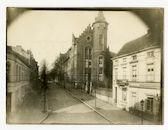 Gent: Karel-Lodewijk Ledeganckstraat:  Normaalschool: kazerne, 1915-1916