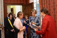 Bezoek Koningin Mathilde aan Design Derby