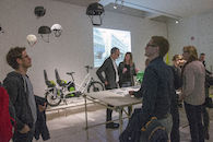Bike to the Future - opening
