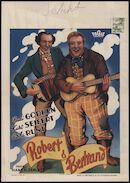 Robert und Bertram   Robert & Bertrand, [Select], Gent, [11 - 17 juni 1939]
