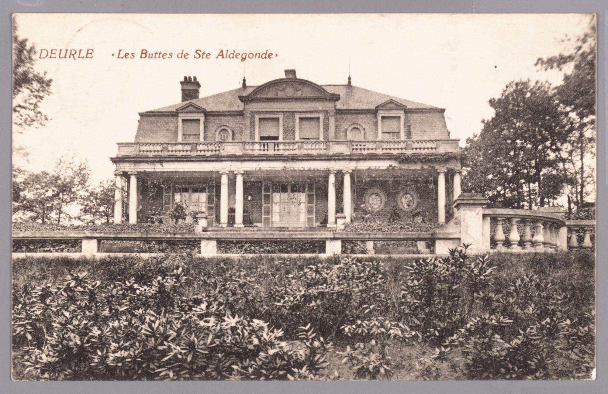 Deurle: villa Les Buttes de Ste Aldegonde