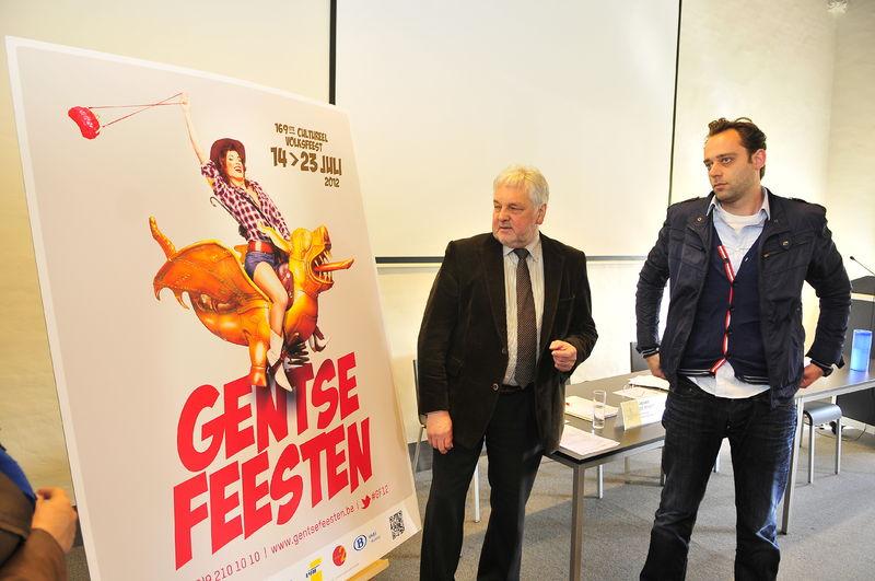 Campagnebeeld Gentse Feesten 2012 10