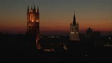Drie torens nacht valt.mov