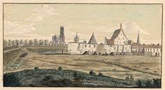Gent: ruïnes van de Sint-Baafsabdij en het Spanjaardenkasteel