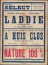Laddie   Kleine zuster, A Huis clos   Achter gesloten deuren, Nature 100%   La Parade du nu, Studio Select, Gent, 12 - 18 mei 1939