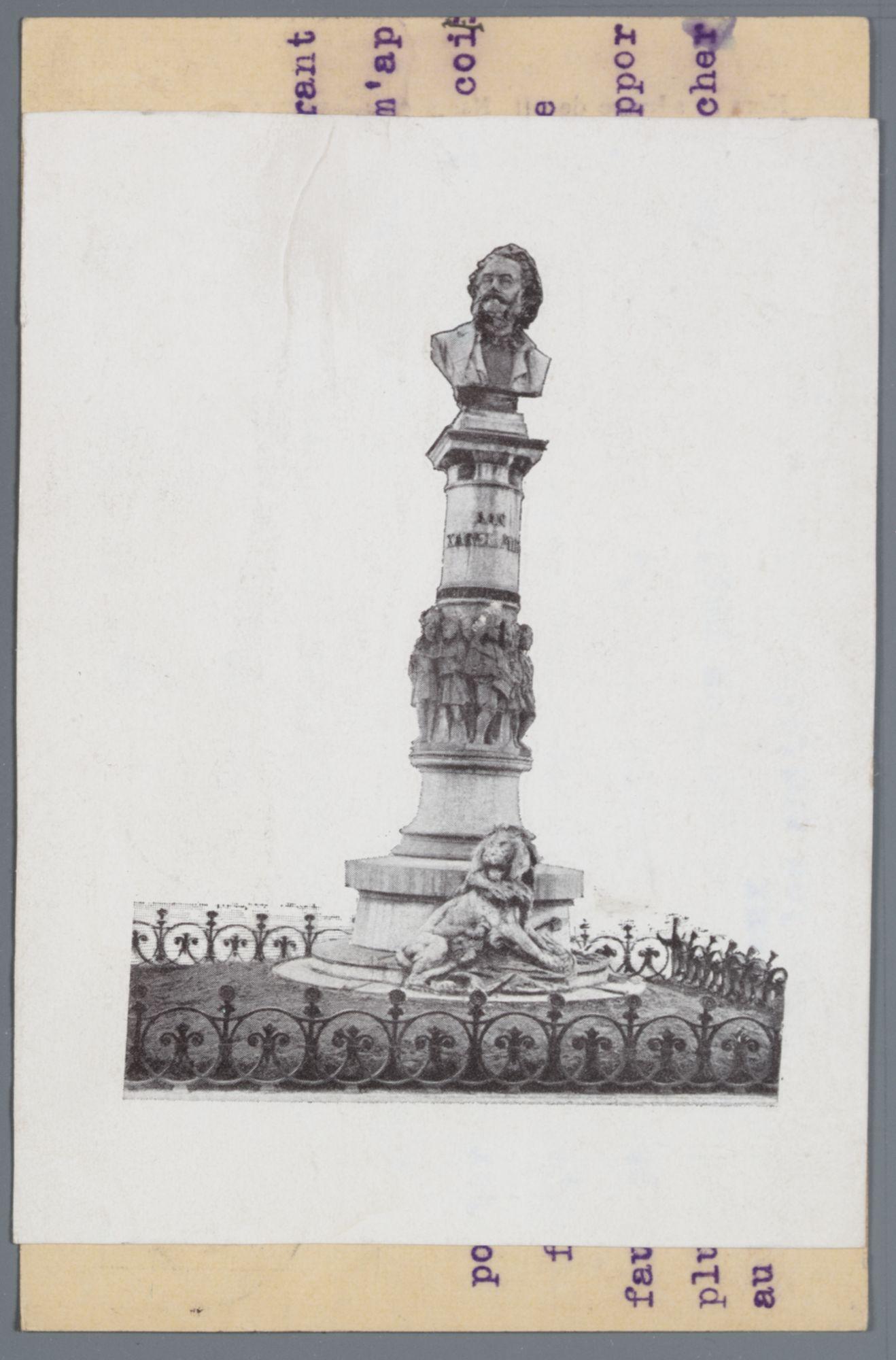 Gent: Casinoplein, monument voor Karel Miry
