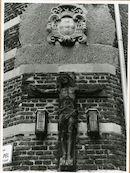 Gent: Biezekapelstraat - Kapittelstraat: Kruisbeeld
