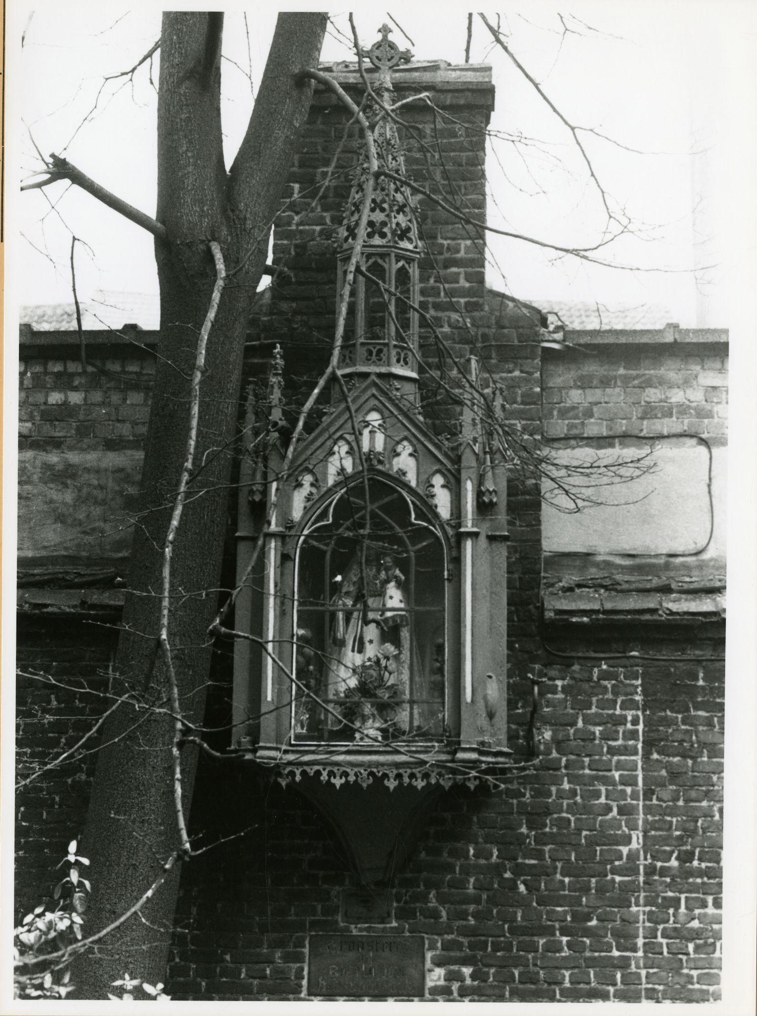 Gent: Keizervest 5: Gevelkapel, 1979