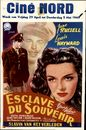Esclave du Souvenir | Slavin van het Verleden | Young Widow, Ciné Nord, Gent, 29 april - 5 mei 1949