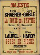 La ronde des pantins   Kermis der dwaasheid (film 1), Têtes de pioche   Domkoppen (film 2), Majestic, Gent, oktober 1939