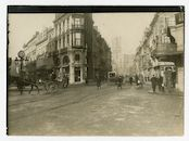 Gent: Hippoliet Lippensplein (Rond Punt), kruispunt Vlaanderenstraat, Brabantdam en Kuiperskaai, 1915-1916