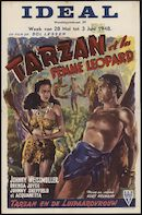 Tarzan et la femme léopard | Tarzan en de luipaard vrouw, Ideal, Gent, 28 mei- 3 juni 1948
