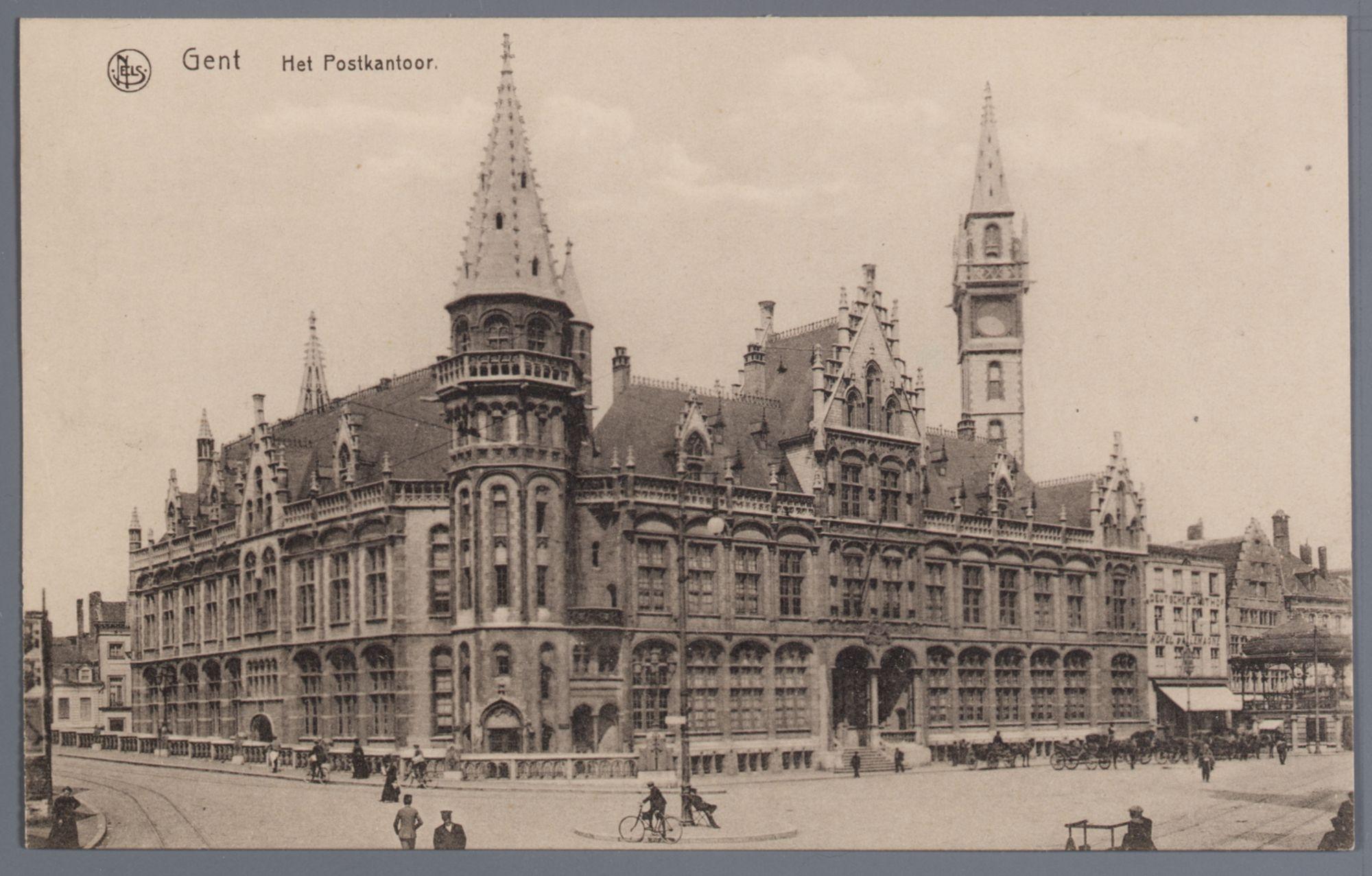 Gent: Korenmarkt: het postgebouw