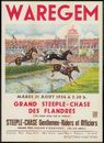 Grand Steeple-Chase des Flandres, Steeple-Chase Gentlemen-Riders et Officiers, mardi 31 Aout 1954