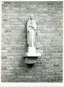 Sint-Denijs-Westrem: Kloosterstraat: Gevelbeeld, 1979