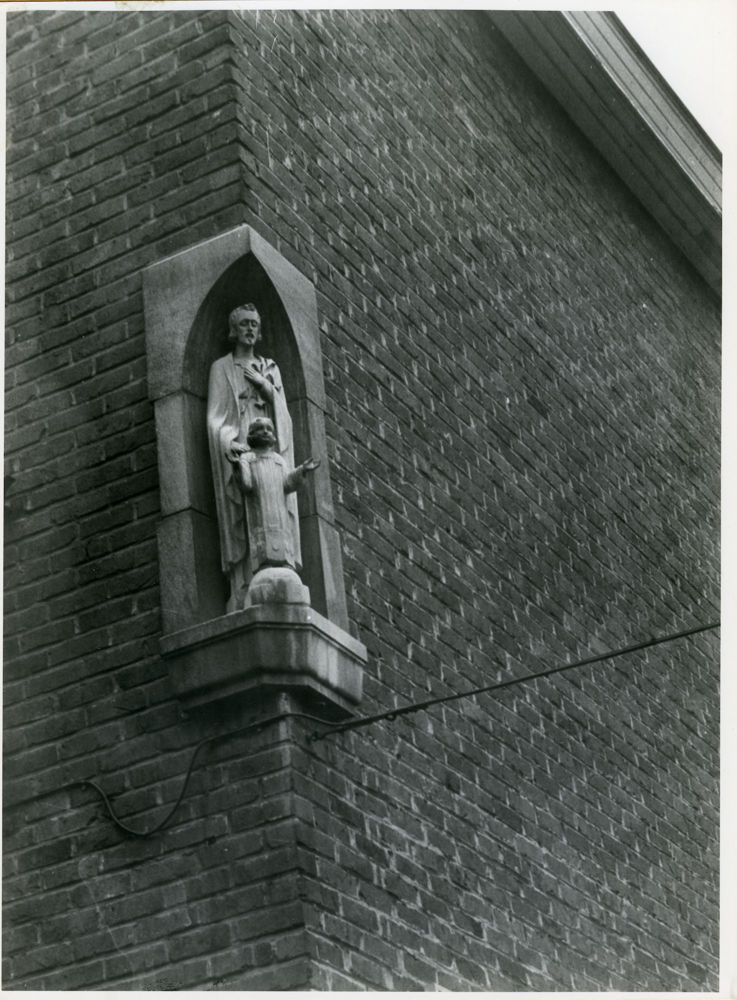 Gentbrugge: Louis Van Houttestraat 52: Gevelbeeld, 1979