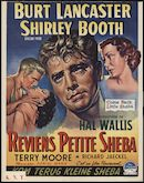 Come Back, Little Sheba   Reviens petite Sheba   Kom terug kleine Sheba, Gent, 1953