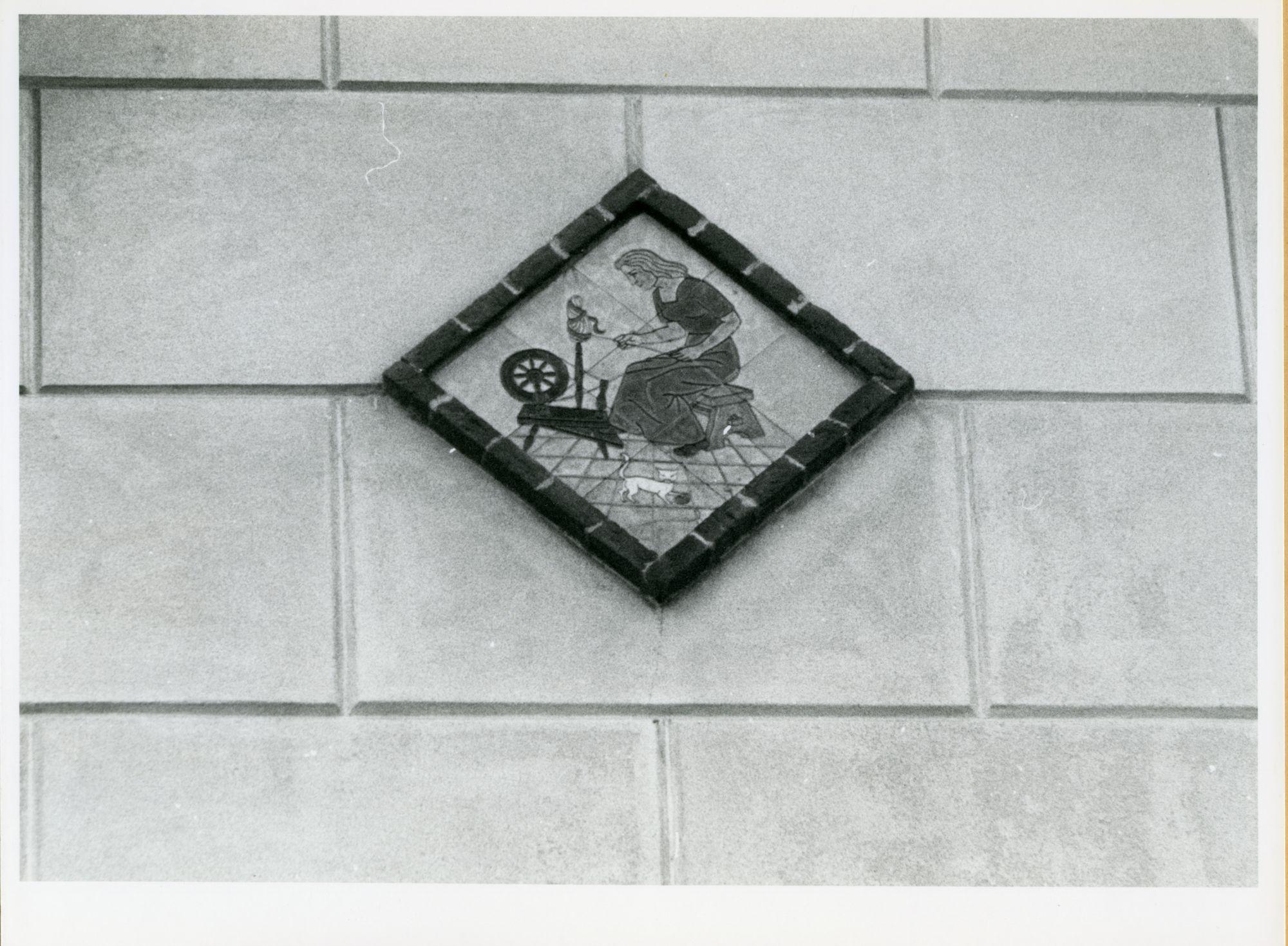 Gent: Sint Pietersnieuwstraat 91: Gevelsteen