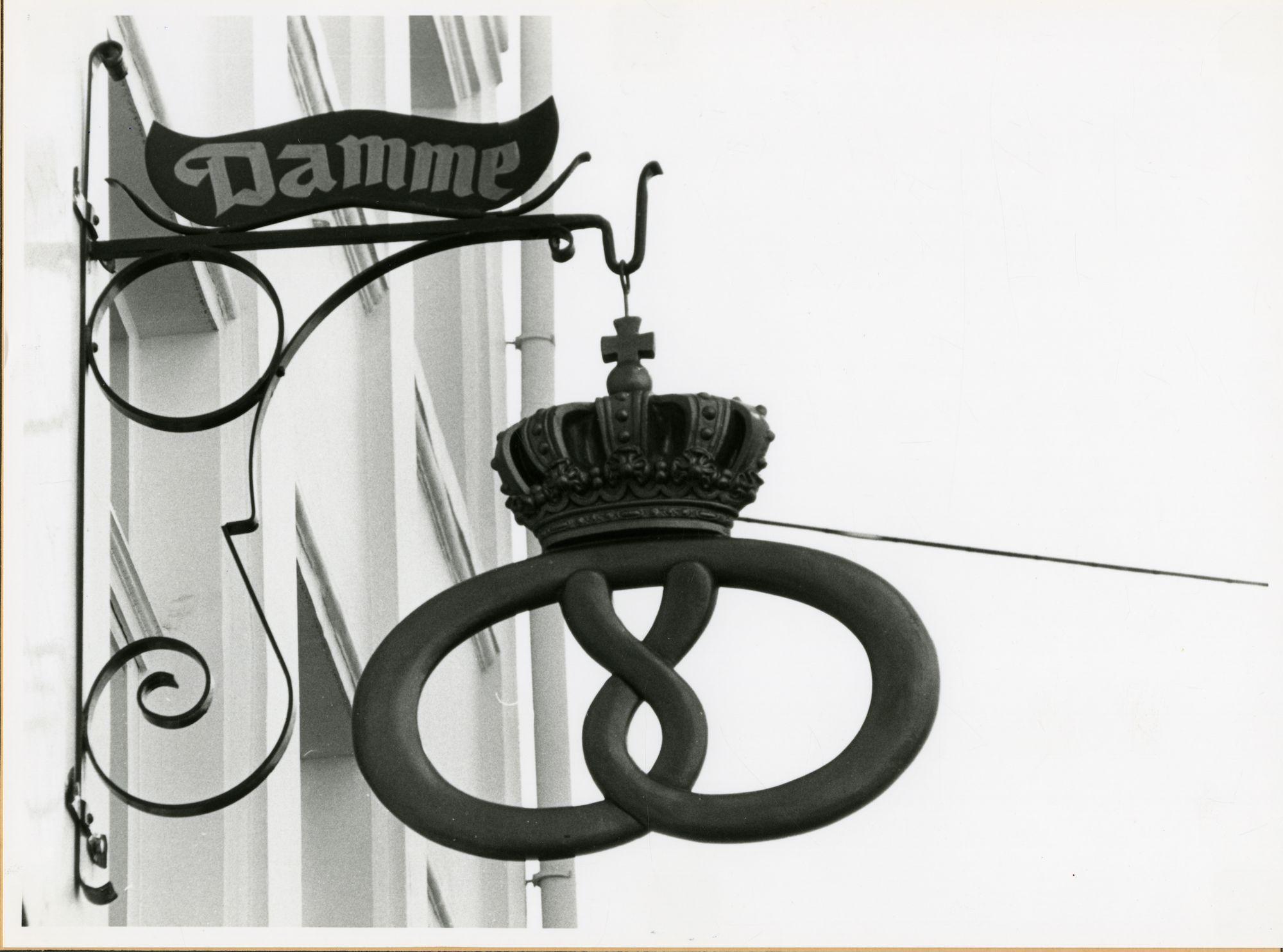 Gent: Koestraat 27: Uithangbord, 1979