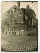 Gent: Bijlokekaai (nu: Albert Baertsoenkaai), hoek Coupure, 1915-1916