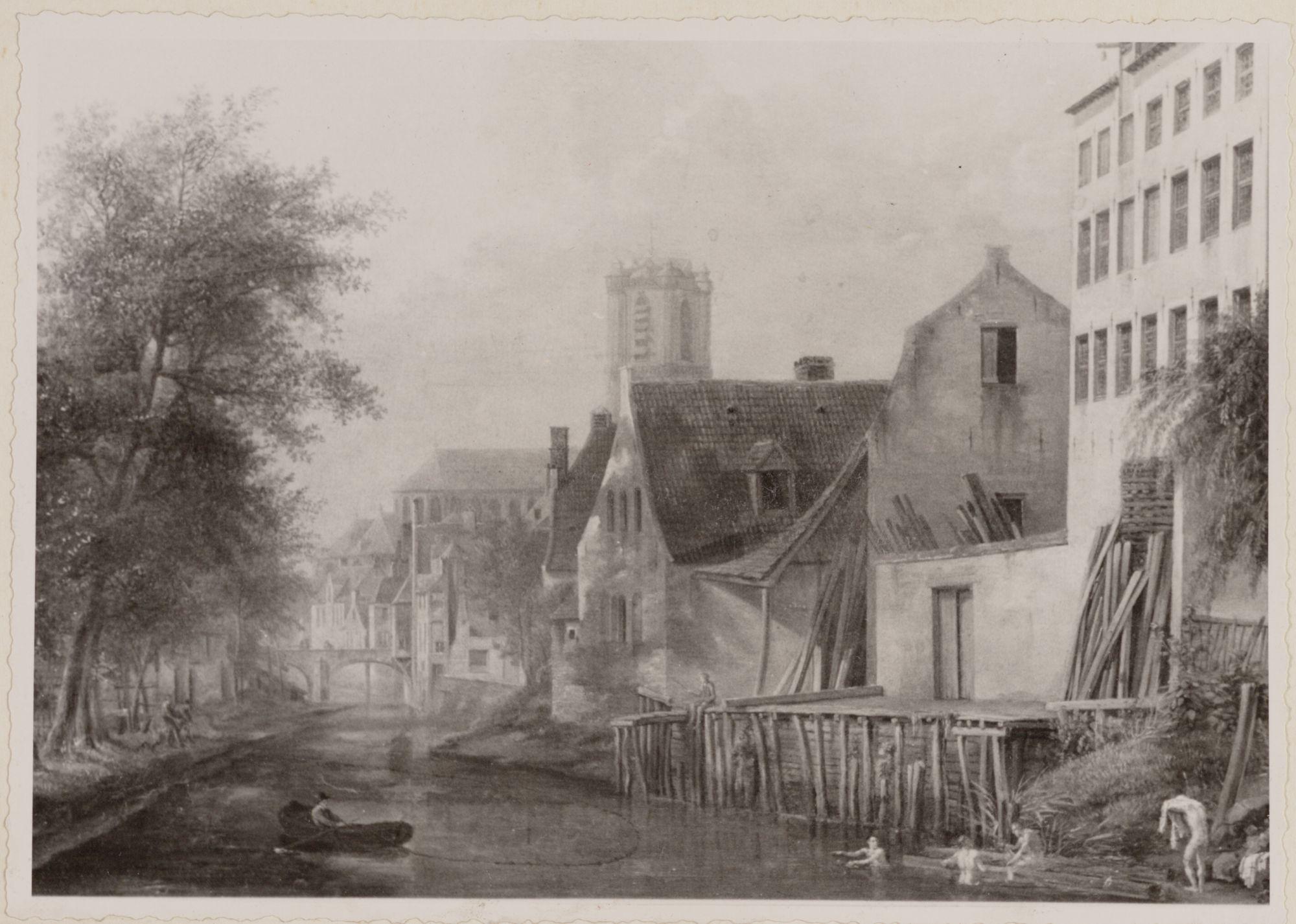 Gent: Nederschelde aan de Nieuwbrugkaai