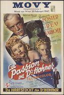 The Climax   La passion du Dr Hohner   De hartstocht van Dr Hohner, Movy, Gent, 14 - 20 februari 1947