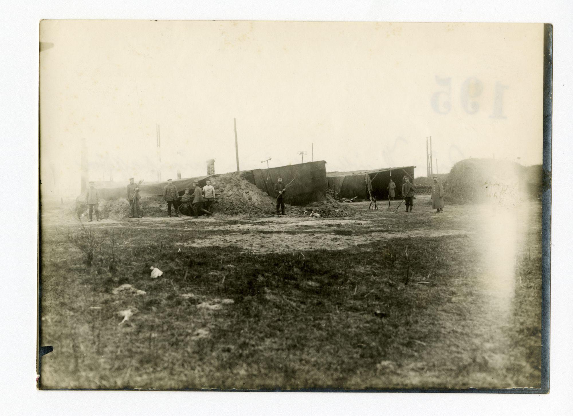 Melle: teerhut, 1915-1916