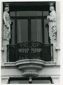 Gent: Vlaamse Kaai 57: Gevelbeelden, 1979
