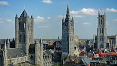 Sint-Niklaaskerk - Belfort - Sint-Baafskathedraal