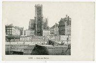 Gent: Graslei en Sint-Niklaaskerk