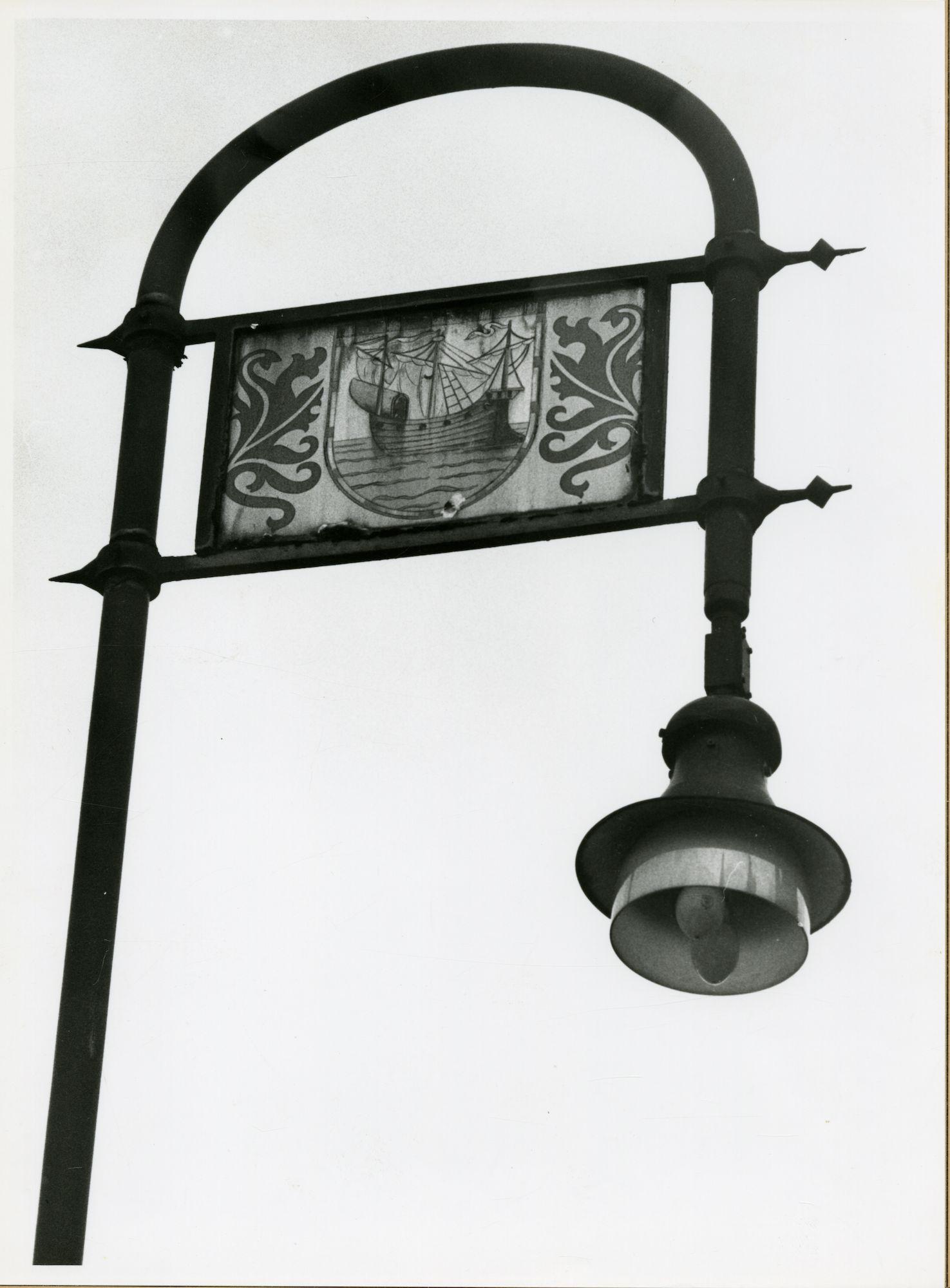 Gent: Graslei: lantaarn
