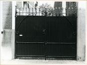 Gent: Smidsestraat 79: Poort, 1979