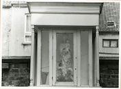 Gent: Langhalsstraat 7-8: Gevelkapel, 1979
