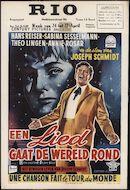 Ein Lied geht um die Welt | Une chanson fait le tour du monde | Een lied gaat de wereld rond, Rio, Gent, 24 - 27 april 1959