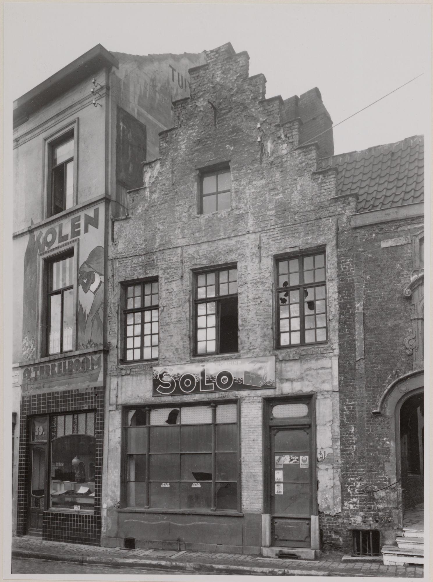 Gent: Trapgevelhuis, Kraanlei