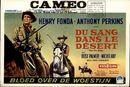 Du Sang Dans le Désert   The Tin Star   Bloed Over de Woestijn, Cameo, Gent, 23 - 29 januari [1958]