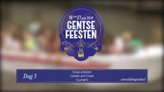 Gentse Feesten 2014 dag3 ArteveldeHogeschool.mov