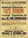Openbare verkoop van Cafe 'Rubens'  te Gentbrugge, Brusselsesteenweg, nr.298, Gent, 21 oktober 1960