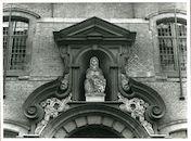 Gent: Voldersstraat 3: Gevelbeeld
