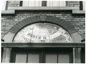 Gent: Tentoonstellingslaan 54: Zonnewijzer, 1979