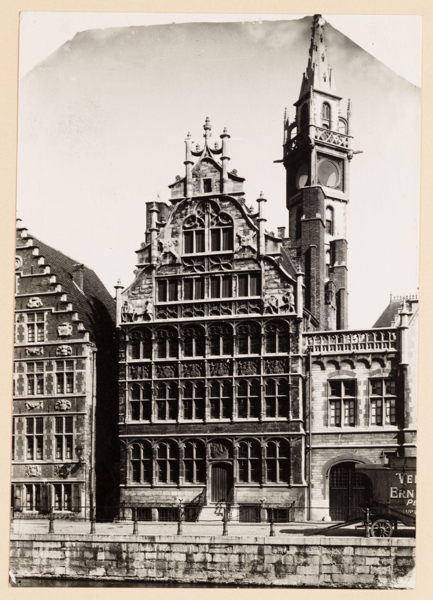 Gent: Huis van de Vrije Schippers, Graslei
